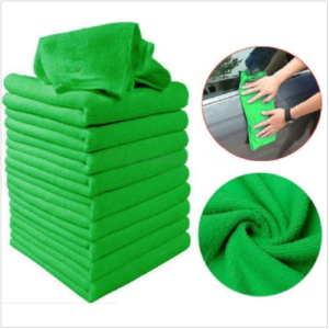 Set of Microfiber Towels for Car Cleaning