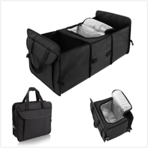Convenient Multifunctional Foldable Insulated Travel Car Organizer