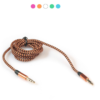 3.5mm Stereo Car Auxiliary Audio Cable Male To Male for Smart Phone 2018#1