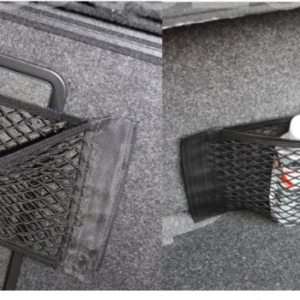 Car Styling New Car Back Rear Trunk Seat Elastic String Net Mesh Storage Bag Pocket Cage