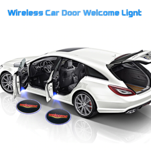 1PCS Wireless Car Door Led Welcome Light for Ford BMW Toyota Volkswagen Mercedes-Benz Mazda VW