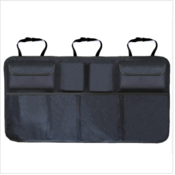 Black Oxford Car Back Seat Organizer