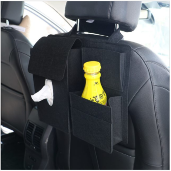 Double Pocket Car Back Seat Organizer