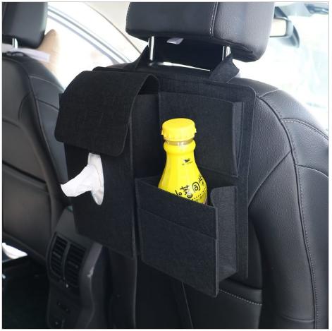 Double Pocket Car Back Seat Organizer