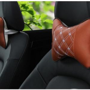 Auto Safety Pillow Car Headrest Breathe Car Auto Seat Head Neck Rest Cushion Headrest Pillow Pad