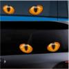 2 Pcs Cat Eyes Vinyl Car Stickers Set