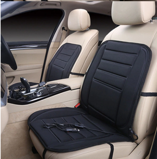 Soft Thickening Heated Car Seat Cushion Winter Warmer Heater With Temperature Controller