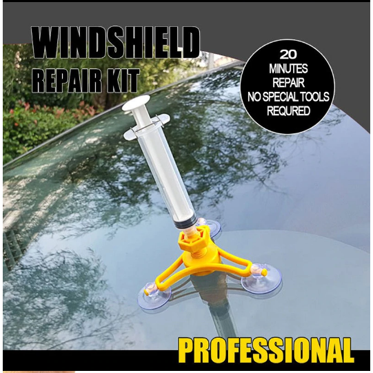 Car Glass Repair Tool Auto Glass Windshield Windscreen Instrument Repair Kits