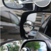 360 Degree Framless Blind Spot Mirror Wide Angle Round HD Glass Convex Rear View Mirrors CSL2017