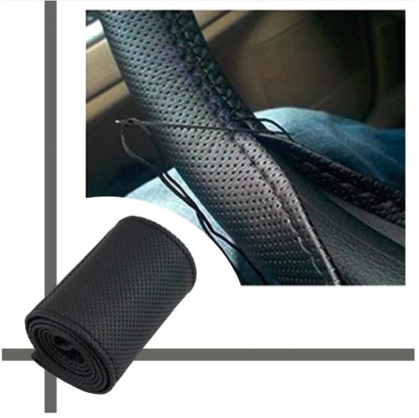 New Car Steering Wheel Cover Braid on Steering Wheel -Car styling