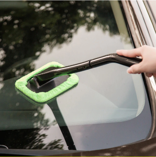 Portable Microfiber Windshield Easy Cleaner Window Cleaning Home Or Auto Brush