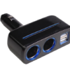 Car Cigarette Lighter Splitter Charger Universal 12-24V Dual USB Car Charger Socket Auto Accessories Car Styling