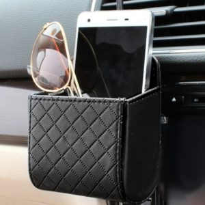 Leather Holding Container for Car Air Vent
